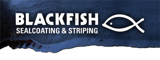 Blackfish Sealcoating Logo
